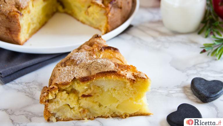 Ricetta Torta Di Mele No Burro.Ricetta Torta Di Mele E Yogurt Senza Burro Consigli E Ingredienti Ricetta It