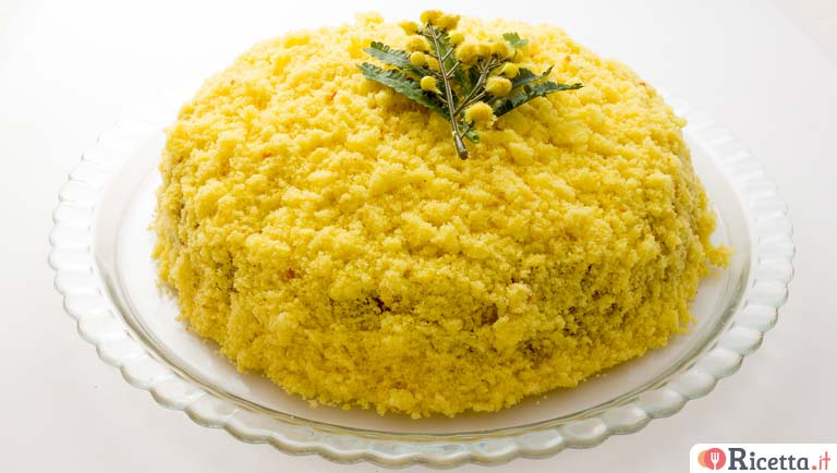 Torta mimosa all\u0027ananas