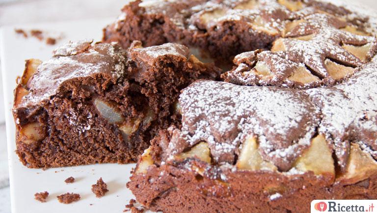 Ricetta Torta Pere E Yogurt Bimby.Ricetta Torta Pere E Cioccolato Con Il Bimby Consigli E Ingredienti Ricetta It