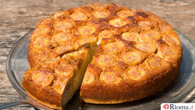 Ricetta Torta Banana.Ricetta Torta Rovesciata Alle Banane Consigli E Ingredienti Ricetta It