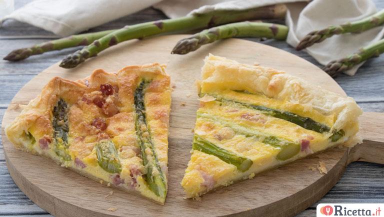 Ricetta Quiche Asparagi E Pancetta.Ricetta Torta Salata Con Asparagi Pancetta E Provola Consigli E Ingredienti Ricetta It