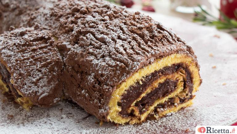 Tronchetto Di Natale Con Pandoro.Ricetta Tronchetto Di Natale Consigli E Ingredienti Ricetta It