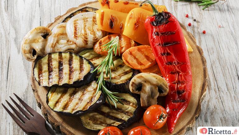 Ricetta verdure grigliate consigli e ingredienti - Accompagnement poisson grille barbecue ...