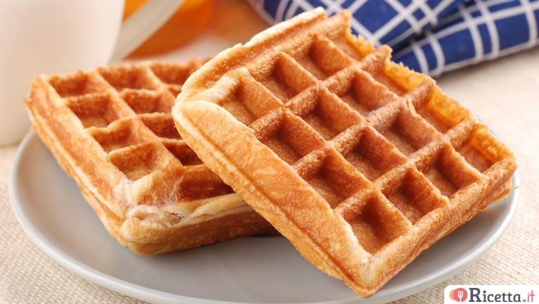 Ricetta Wafer Con Bimby.Ricetta Waffle Con Il Bimby Consigli E Ingredienti Ricetta It