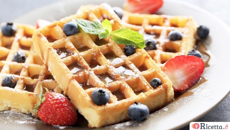 Ricetta Wafer Dolci.Ricetta Waffle Facili E Veloci Consigli E Ingredienti Ricetta It